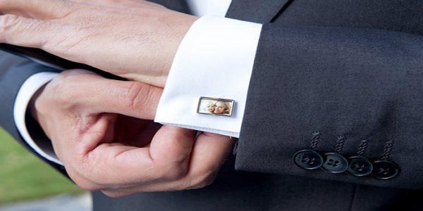 Apportez une touche d'originalité à votre costume avec des boutons de manchette personnalisés